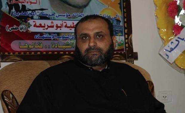 أبو الشيخ : أبو عطايا يمتلك رصيد جهادي كبير جداً وبصمات مقاومته على مستوى فلسطين
