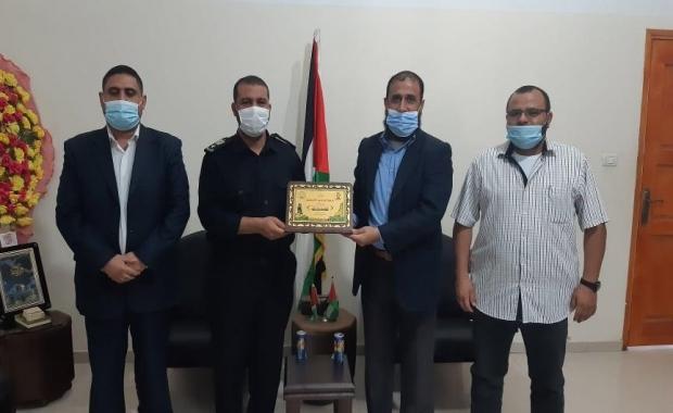 المجاهدين تقوم بزيارة العقيد أبو محمد نبهان مديرمركز الاصلاح والتأهيل طيبة