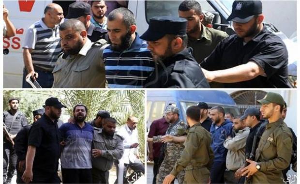 القضاء العسكري بغزة يقضي بإعدام 3 متورطين باغتيال فقهاء